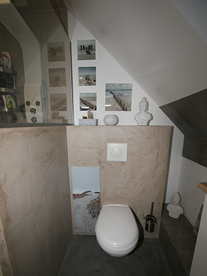 Salle bain adolescents wc renovation Atelier Goreti